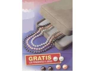 deslumbrantes collares de auténticas perlas cultivadas. Regalo de