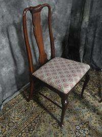 BEAUTIFUL SET MAHOGANY QUEEN ANNE DINING ROOM CHAIRS THOMASVILLE