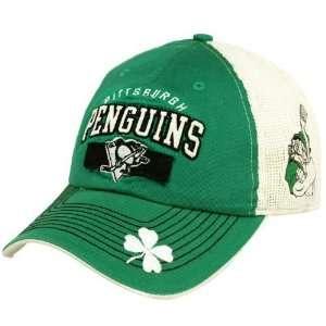 Kelly Green White Riddock St. Patricks Day Mesh Back Adjustable Hat