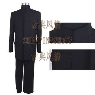 chinese zhong shan suits sun yat sens uniform 083301 b