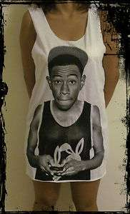 Ladies Tyler The Creator Vest*** Free Size Tank Top T Shirt ***NEW