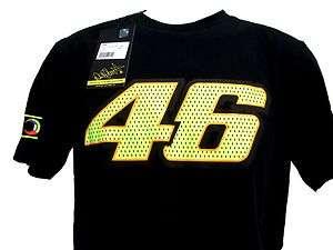 Valentino Rossi Authentic VR46 Black Shirt MotoGP Md M