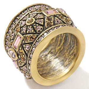 Heidi Daus Simply Regal Crystal Accented Band Ring