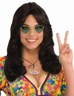 Hippie Flower Child Wig   Costume Wigs