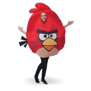 Rovio Angry Birds   Red Angry Bird Adult Costume, 801533