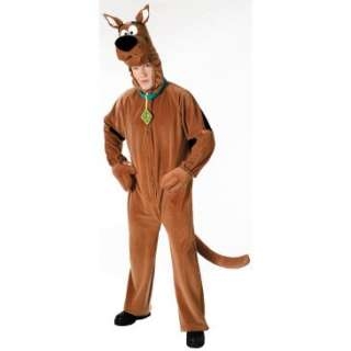 Scooby Doo Plush Deluxe Adult Costume, 10068