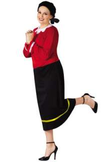 Olive Oyl Plus Size Costume for Halloween   Pure Costumes