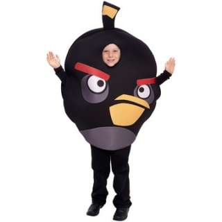 Rovio Angry Birds   Black Bird Child Costume   Includes Pullover