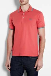 Fred Perry Laurel Wreath  Hibiscus Pink Japanese Twin Tip Polo Shirt