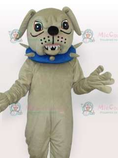 with Collar Adult Mascot Costume  Big Dog with Collar Adult Mascot