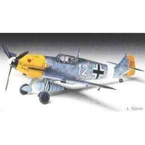 Tamiya 1/72 Messerschmitt Bf109E4/7 Aircraft Kit Toys & Games
