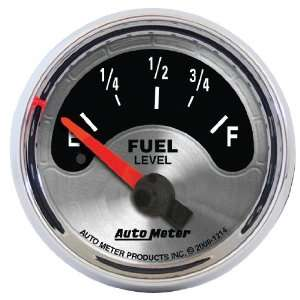 American Muscle 2 1/16 Short Sweep Electric Fuel Level Gauge for GM