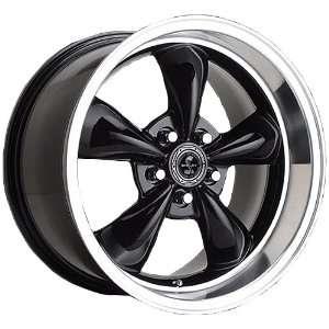 American Racing Torq Thrust MS (Gloss Black w/ Machined Lip) Wheels