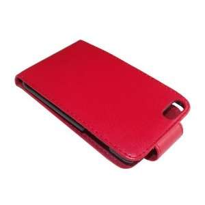 Red Leather Flip Case for Apple iPod 2G/ 3G  Players & Accessories