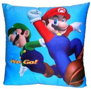 Nintendo Super Mario and Luigi Pillow Clothing