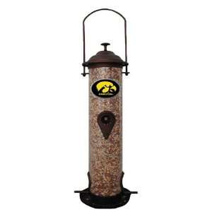 Iowa Hawkeyes NCAA Team Logo Bird Feeder: Sports & Outdoors