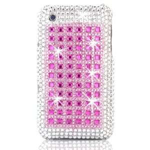 Talon Full Diamond Bling Phone Shell for Apple iPhone 3G