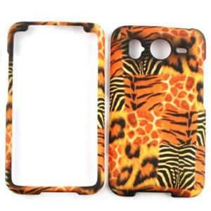 HD / Inspire 4G A9191 Giraffe/Leopard/Tiger/Zebra Print Hard Case
