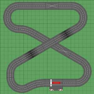 1/32 Carrera Analog Slot Car Race Track Sets   Ferrari