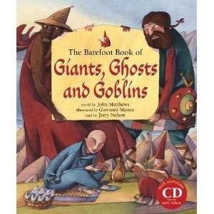 , Ghosts & Goblins (HC w 2 CDs) [Hardcover] John Matthews Books
