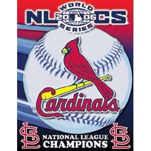 St. Louis Cardinals National League Champions 48 x 60   Triple Woven