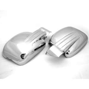 Look Automotive Chrome Mirror Cover Trim without LED Turn Signals Side