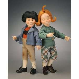 R John Wright Collectible Dolls   Max & Moritz Everything