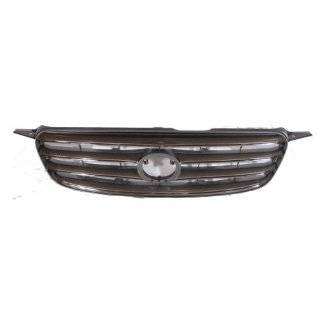 QP T0503 a Toyota Corolla Chrome/Gray Grille Automotive