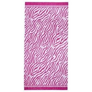 Quilted Zebra Print Tote Bag   Pink/Black (18x14.5x7)
