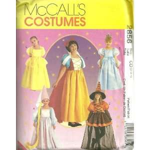 Storybook Costumes McCalls Costumes Sewing Pattern 2856 (Size 2 3 4