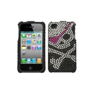 Skull Diamond for Apple iPhone 4 Case Cover, Compatible