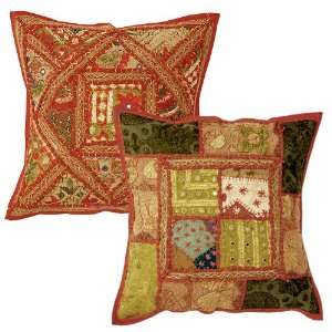 Attractive Beautiful Cushion Pillow Cover with Velvet