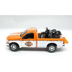 1999 Ford F350 Harley Davidson Truck 1/27 & 1936 Knucklehead