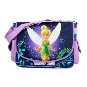 Disney Fairies Tinker Bell Purple Mist Messenger Bag#37597