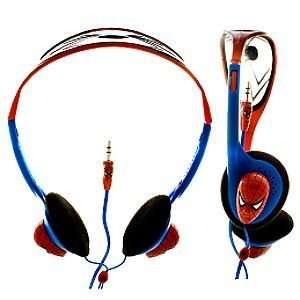 Disney Headband Style Marvel Comics Spider Man Headphones