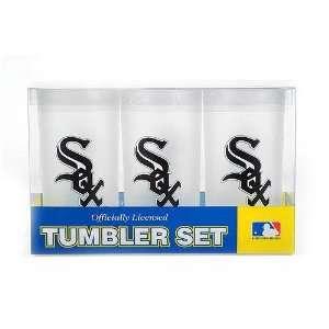 Chicago White Sox MLB Tumbler Drinkware Set (3 Pack)