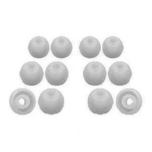 Sets, S/M/L Clear + Earphones Plus Brand Replacement Ear Cushions
