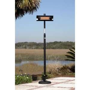 1500W Electric Infrared Steel Pole Patio Heater