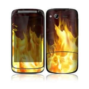 Furious Fire Design Decorative Skin Cover Decal Sticker