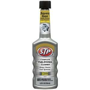 STP 78568 Complete Fuel System Cleaner   5.25 oz