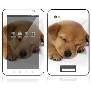 Samsung Galaxy Tab Decal Sticker Skin   Animal Sleeping