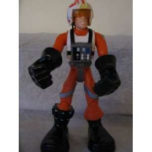 Hasbro Toy Star Wars Luke Skywalker X Wing Fighter Pilot Toys & Games