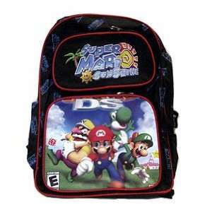 Super Mario Brothers  Sunshine Large Backpack Toys & Games