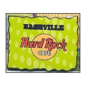 Hard Rock Cafe Pin 13463 Nashville Abstract Series
