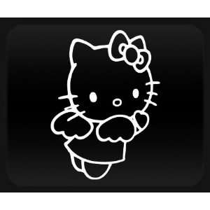 Hello Kitty Angel White Sticker Decal