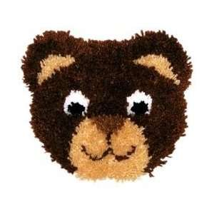 Huggables Pillow Latch Hook Kit   Teddy Bear Arts, Crafts