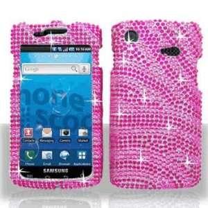 Samsung i897 Captivate Full Diamond Hot Pink Pink Zebra