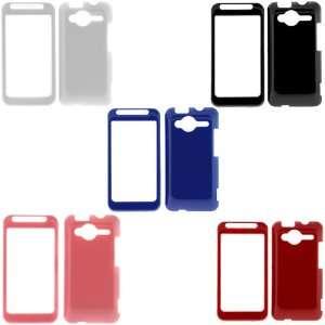(White + Black + Blue + Pink + Red) for Sprint HTC EVO Shift 6100 4G