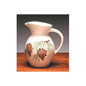 Pinecone 54 oz Iced Tea Pitcher Home & Kitchen