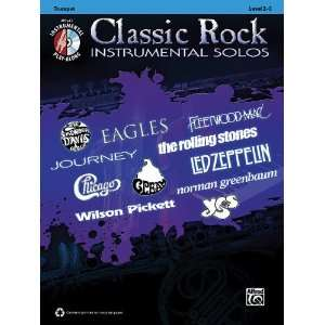Classic Rock Hits Instrumental Solos Book & CD Sports